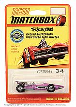 Matchbox Superfast No.34 Formula 1 Racing Car
