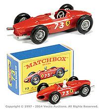 Matchbox Regular Wheels No.73B Ferrari Racing