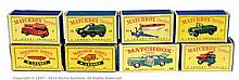 GRP inc Matchbox Regular Wheels empty boxes
