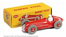 Dinky No.232 Alfa Romeo Racing Car - finished