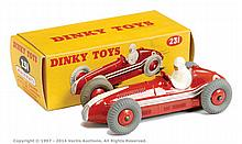 Dinky No.231 Maserati Racing Car - red body