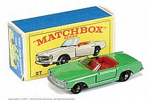 Matchbox Regular Wheels No.27D Mercedes 230SL