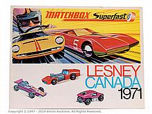 Matchbox Superfast Lesney Canada 1971 Trade
