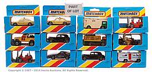 GRP inc Matchbox Superfast 20 x various blue