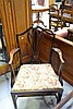 Antique English George III Mahogany armchair