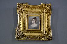 Fine antique early 19th century portrait
