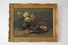 Caroline Bouffray, Still life, 19th century French