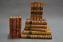 Thirteen various leather bound books (13)
