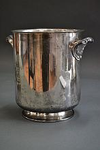 Art Deco silver plate Champagne bucket by