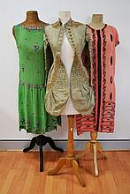 Selection of rare antique and vintage clothing to