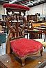Antique 19th century French Mahogany Pray chair