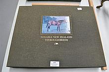 Notable New Zealand Thoroughbreds book in original case