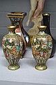 Assortment of Cloisonne, pair of vases and two
