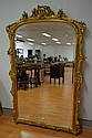 Antique 19th century French gilt surround mirror
