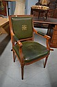 French Louis XVI armchair