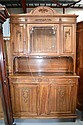 French Louis XVI walnut buffet, approx 150cm W x