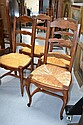 French Louis XV chairs