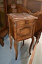 Antique French Louis XV marble topped nightstand
