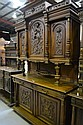 Antique French Henri II two height buffet