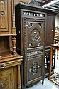 Antique French Brittany single door armoire, 208