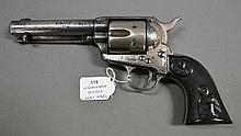 Colt 1873 SAA 4 3/4 inch 41 cal 1886 nickel
