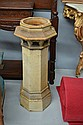 Large antique pottery chimney