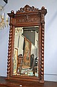 Antique French Henri II carved oak & walnut