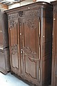 Antique 19th century French Normandy two door
