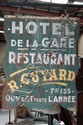 Vintage French double sided restaurant sign