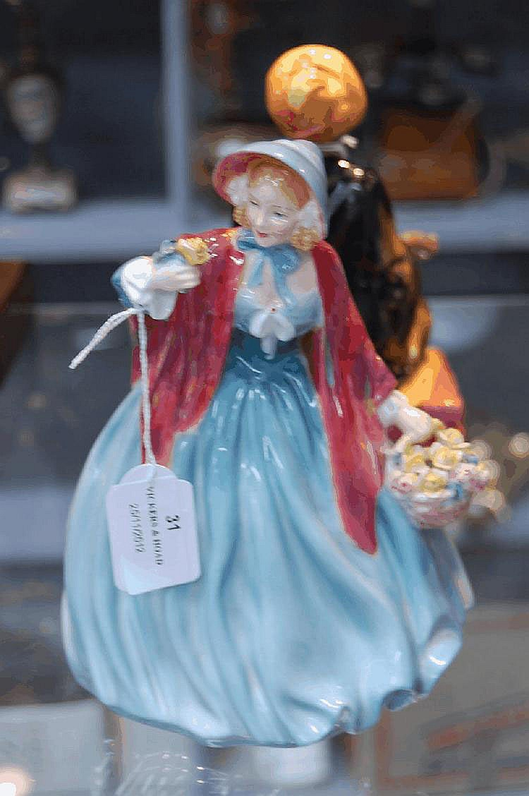 Royal Doulton figure Lady Charmaine HN1948. 20cm