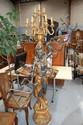 Modern Blackamoor figural floor lamp standing