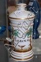 Antique French porcelain lidded pharmacy jar,