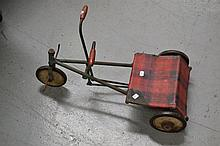 Vintage French child's tricycle