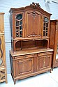 Impressive antique French walnut Louis XV style