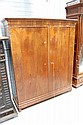 Antique French Louis Philippe two door armoire,