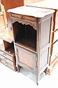 Vintage French Louis XV style cupboard. 122cm h x