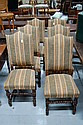 Set of Six antique French Louis XVIII chairs (6)