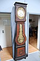 Antique French comtoise long case clock