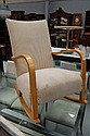 Swedish designer rocking chair