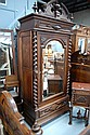 Impressive antique French Henri II walnut armoire