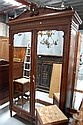 Fine antique French Louis XVI two door armoire,