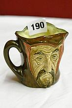 ROYAL DOULTON DOUBLE SIDED CHARACTER JUG -