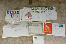 MIXED COLLECTION OF 87 GB F.DAY COVERS LATE