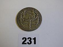 KING GEORGE VII AND QE BRITISH EMPIRE MEDALLION