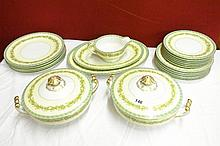 EXTENSIVE NORITAKE DINNER SERVICE INC TUREENS AND