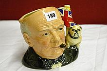 ROYAL DOULTON WINSTON CHURCHILL D6907 CHARACTER