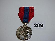 GEORGE V FAITHFUL SERVICE MEDAL TO JOHN HENRY DAY