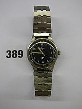 GENTS VINTAGE OMEGA 1950S MILITARY/NATO STAINLESS