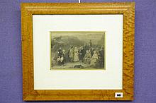 19TH CENTURY STEEL ENGRAVING 'THE COVENATERS