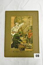 W/C ON CARD - 'THE MOORS LEGACY' J.O 1928 UNFRAMED